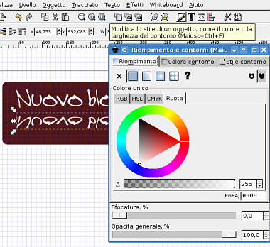 Guida inkscape, inkscape tutorial, web2, header, svg 12