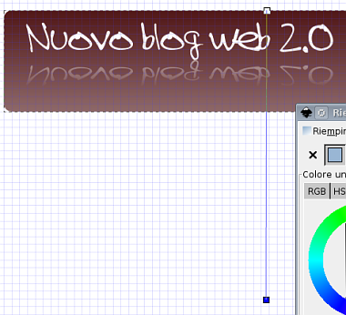 Guida inkscape, inkscape tutorial, web2, header - sfumature, menu, design