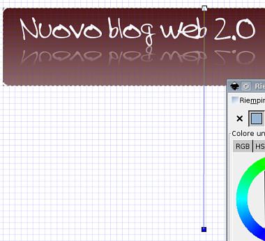 Guida inkscape, inkscape tutorial, web2, header - sfumature, menu, design