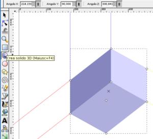 3d con inkscape