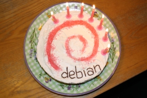 Thank you Debian!